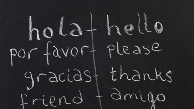 Language lessons ...  picking up a new language requires motivation.