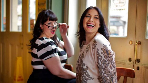 The runway is calling … Yvette Coyne, left, and Tanya Griggs will take part in the Big is Beautiful plus-size show ...