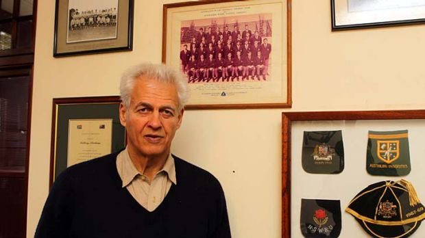Tony Abrahams, pictured at his home last week.