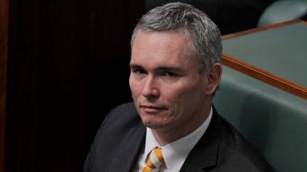 In question time ... Craig Thomson.