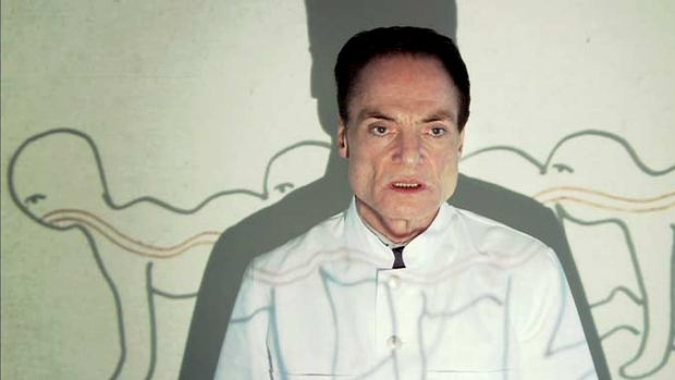 Dieter Laser as Dr. Heiter in <i>Human Centipede (First Sequence)</i> the prequel to Full Sequence.