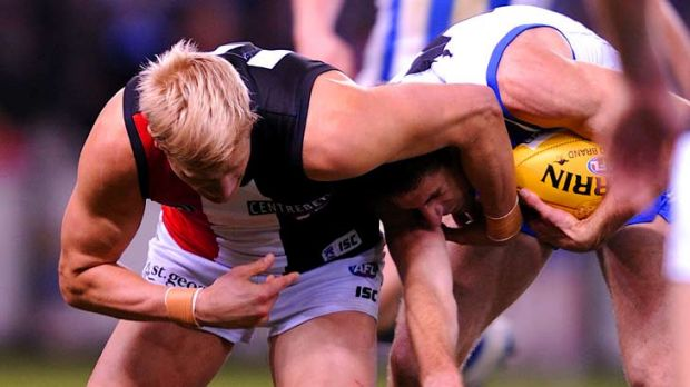 Saints v North Melbourne - it's hard to see this one being a blowout.