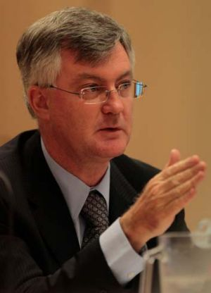 In favour of carbon tax ... Martin Parkinson.