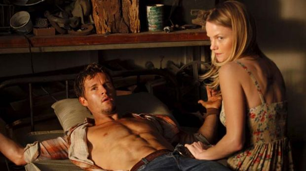 Not tied to a formula ... Ryan Kwanten as Jason Stackhouse and Lindsay Pulsipher as were-panther Crystal Norris in ...