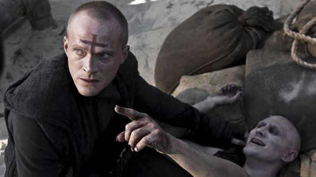 Say your prayers … Paul Bettany is priest with a taste for vampire hunting.