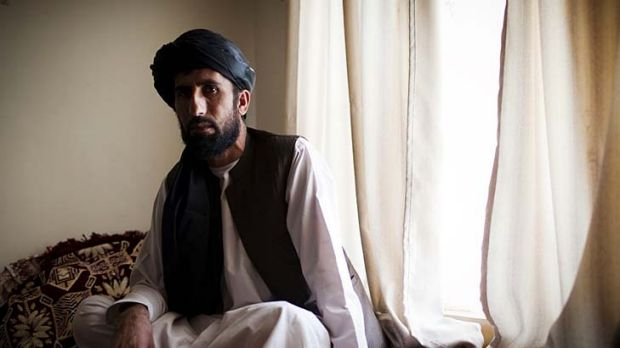 Matiullah Khan at his home in Oruzgan Province, Afghanistan last year.
