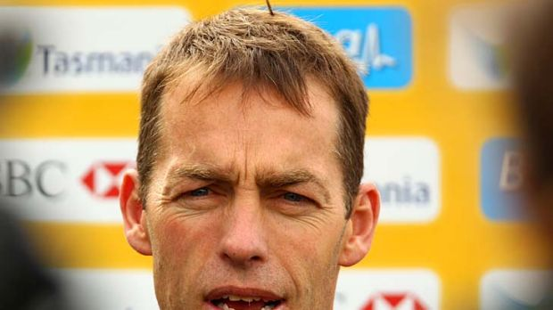 """Alastair Clarkson: """"We recognise there's still some unfinished business..."""""""
