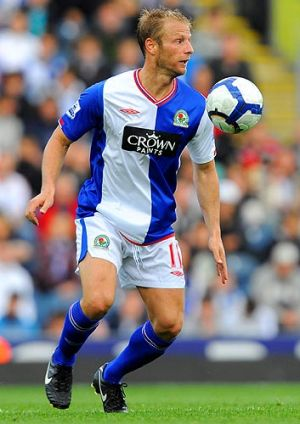 Vince Grella plays for the Blackburn Rovers.