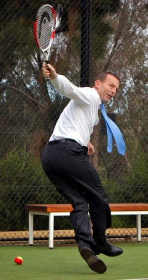 """""""The only thing I wouldn't do is sell my arse - but I'd have to give serious thought to it"""" ... Abbott."""