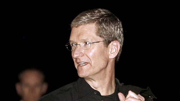"""Timothy """"Tim"""" Cook, chief executive officer at Apple, attends the MacWorld conference in San Francisco, California, ..."""