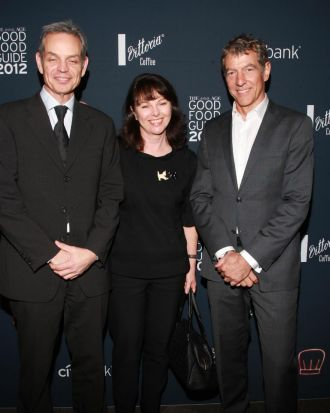 The Age's weekday editor, Mike Van Niekerk, with Fairfax Media's General Group Counsel Gail Hambly and Fairfax Media ...