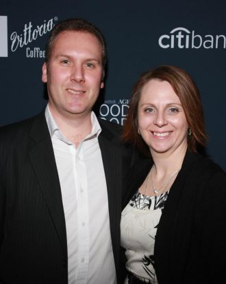 Dean and Tarsha Robinson from Coles.