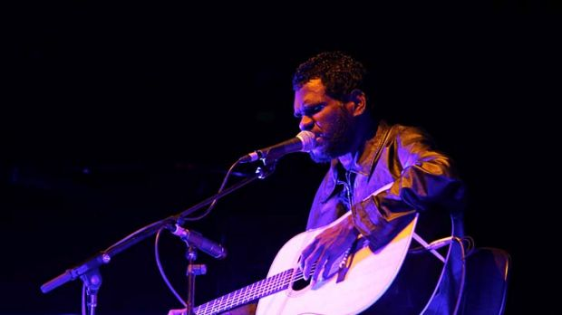 Haunting … Gurrumul at the Opera House.