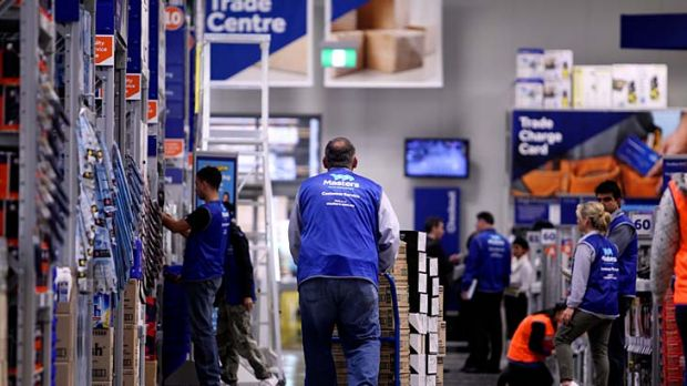 Masters hardware stores criticised as 'female friendly' in a report prepared for competitor, Bunnings.