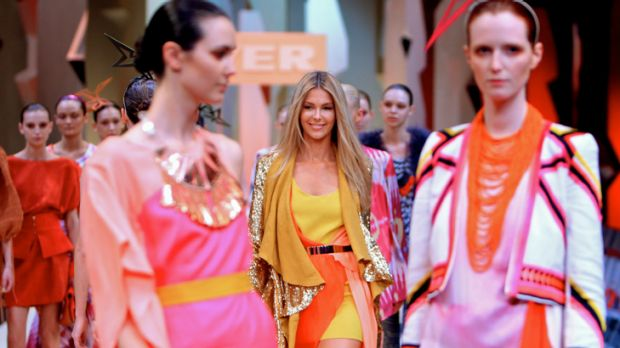 Vibrant colours ... how to wear summer's biggest trend.