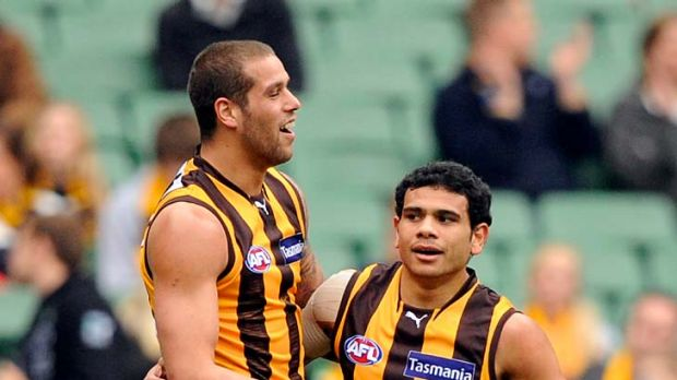 Lance Franklin and Cyril Rioli will have a rest this weekend.