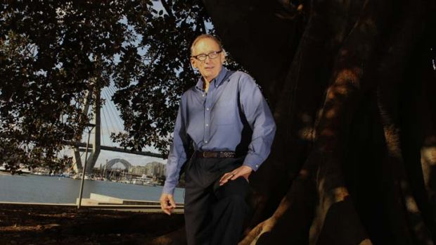 Bob Carr, as premier championed public access to the foreshore, in Bicentennial Park.