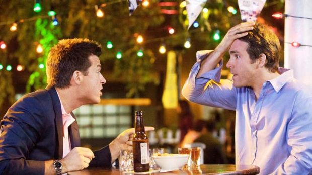 Are you me?: A family guy (Jason Bateman, left) swaps places with a lothario (Ryan Reynolds) in the role reversal comedy ...