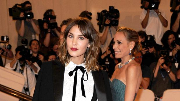 Daring to be different ... Alexa Chung makes the most of her unique style.