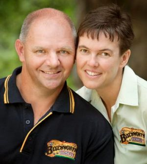 Steven and Jodie Goldsworthy.