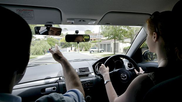 Queensland learner drivers are ignoring the law that says they must be supervised by an instructor with an open licence.