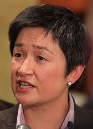"Penny Wong: ""She's the Prime Minister of the country and she has to make a judgment call."""