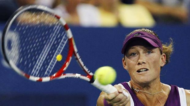 Samantha Stosur has played two marathon matches to reach the pointy end of the year's last major.