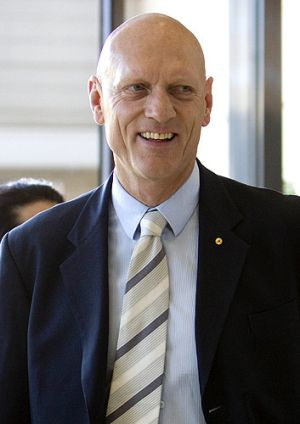 Education Minister Peter Garrett.
