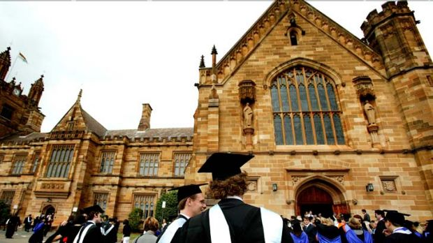 Breathing space ... Sydney University will ban smoking across most of the campus.