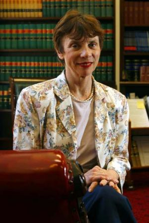 Justice Marcia Neave.