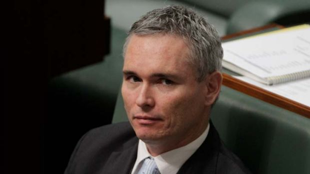 Vote not wanted ... Craig Thomson.