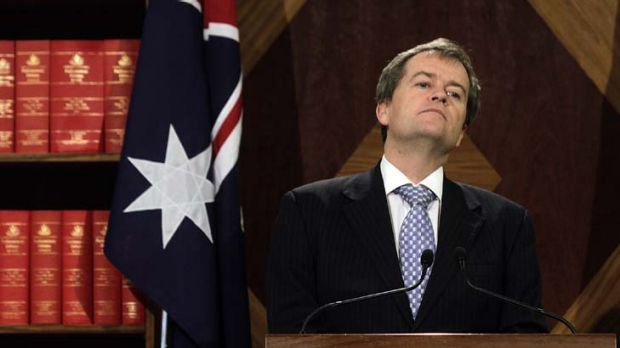 """""""The snapshot shows we have not sold the farm"""" ... Assistant Treasurer, Bill Shorten."""