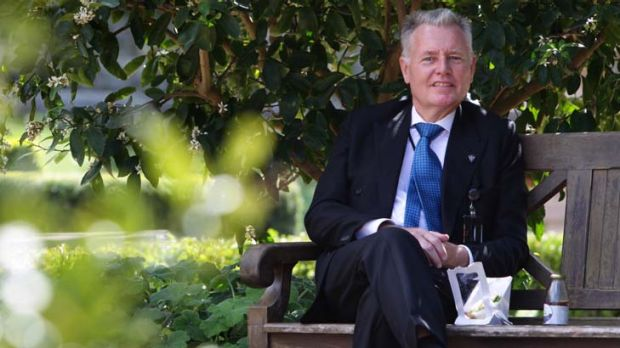 """Professor David Mabberley ... """"I'm running one of the best botanic gardens in the most sublime city."""""""