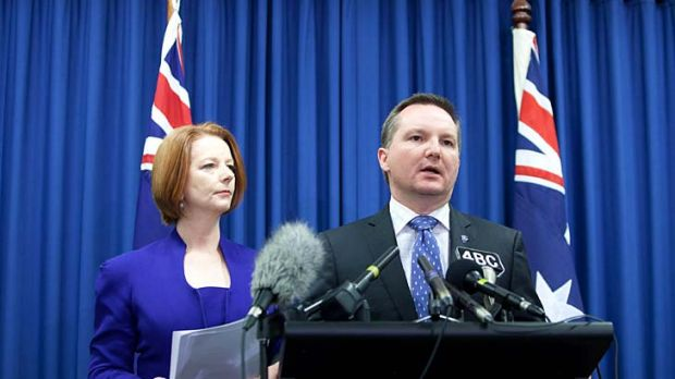 Fresh attempt: Chris Bowen and the ALP will conduct a special meeting of the cabinet tomorrow to discuss the new policy ...