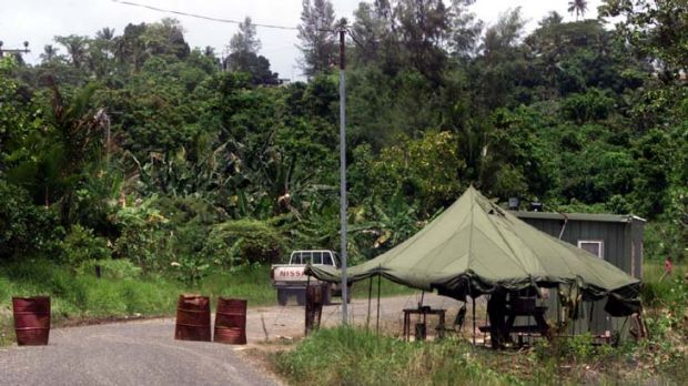 Manus Island ... David Bennett QC says there is no legal reason why offshore processing can't go ahead.