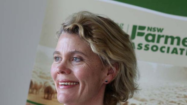 """""""The farmers think that any impact on farm operations is too much impact"""" ... Fiona Simson, NSW Farmers Association ..."""