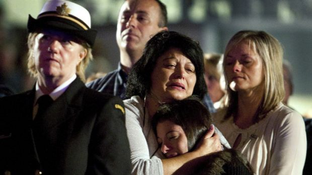 New Yorkers mourn the loss of loved ones.
