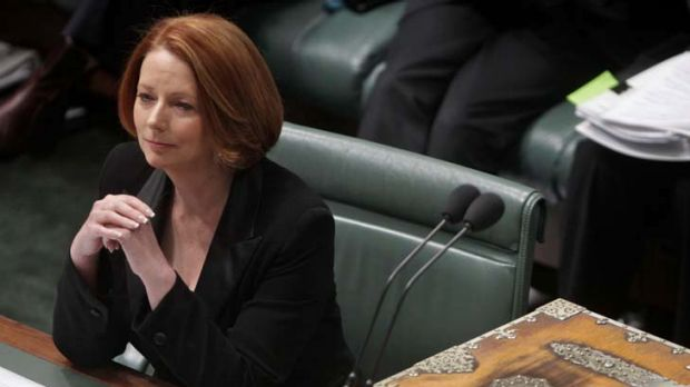"""I do not ask Mr Abbott to endorse or applaud the Malaysia arrangement"" ... Prime Minister Julia Gillard."