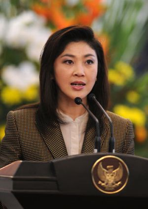 Cracking down ... Thai Prime Minister, Yingluck Shinawatra.