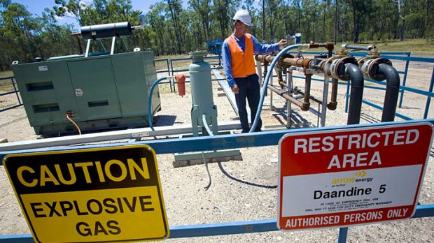 Coal seam gas has caused tension between miners and landowners.