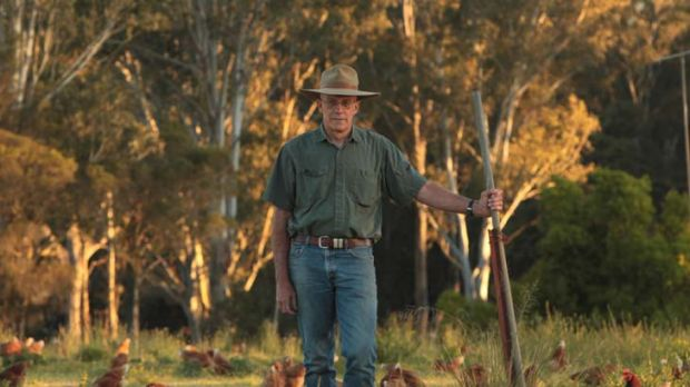 Outrage ... Ian Littleton on his farm in north-west Sydney. He says buyers would not be happy that a hectare could hold ...