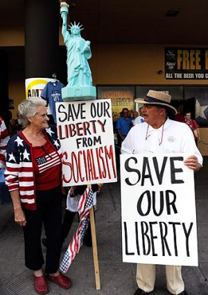 Most Tea Party supporters doubt global warming is real.