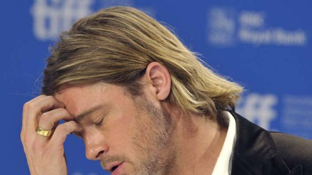 """I wasn't living an interesting life"" ... Brad Pitt."