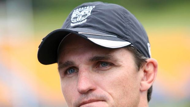 First in line ... Robbie Deans was the first person to congratulate Warriors coach Ivan Cleary.