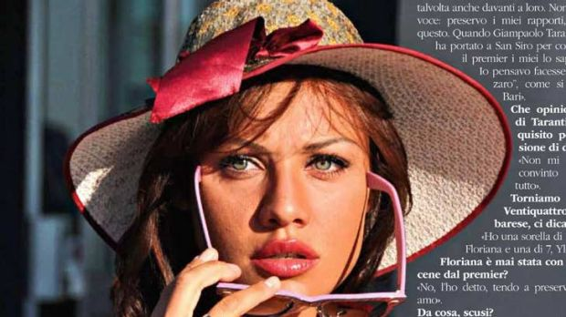 Graziana Capone, here in Leiweb magazine, has been linked to Mr Belusconi.