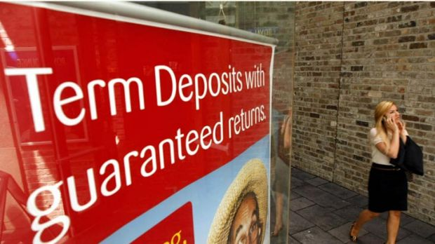Top deposit ... the preference for bank accounts, since the government guarantee was introduced, is at its highest level ...