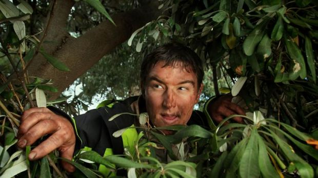 Heath Franklin, famous for his Chopper Read character, has a new show and a new character based on Bear Grylls.