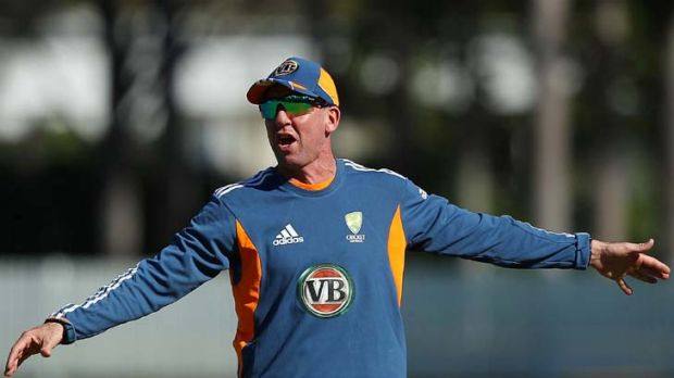 Over and out ... Australia's cricket coach Tim Nielsen quits.