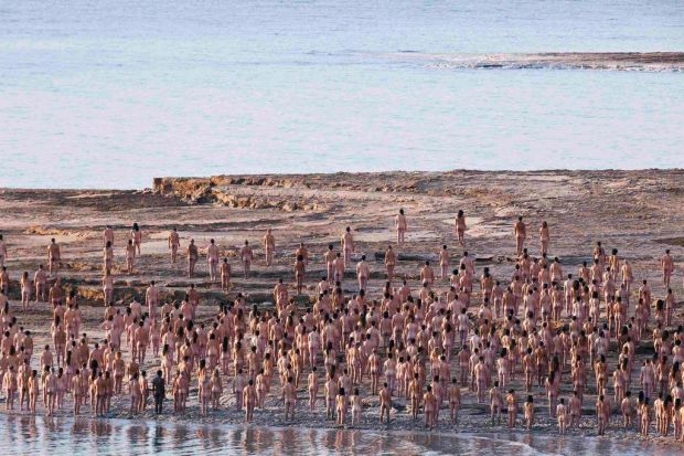 Right! excellent spencer tunick dead sea