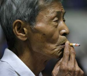 Millions of Chinese men smoke, and regulations to prevent smoking in public places have been widely ignored.